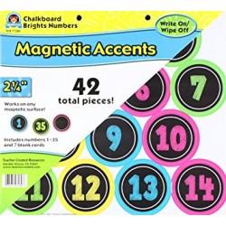 Cyferki magnetyczne dla dzieci, magnesy na lodówkę