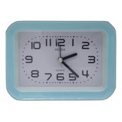 Zegar prostokątny budzik quartz