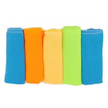 Ręczniki kolorowe ściereczki frotte 30x30 cm 5 szt