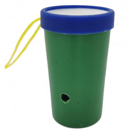 Gwizdek zielony pukawka zabawka