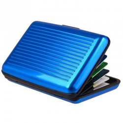 Aluminiowy portfel etui na karty Stop RFID