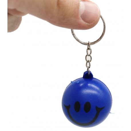 Brelok buźka piłka do kluczy