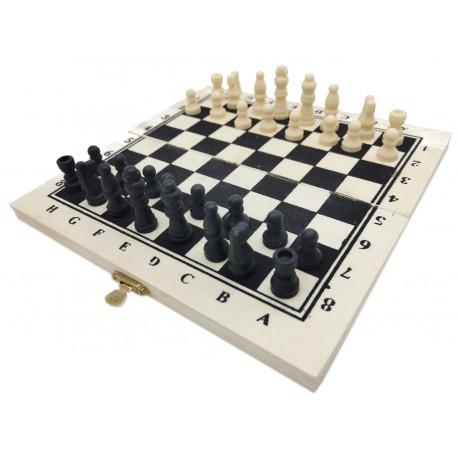 Szachy królewskie klasyczne do gry drewniane