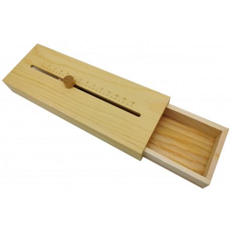 Piórnik drewniany, pudełko na drobiazgi, biżuterie