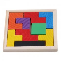 SORTER Układanka logiczna drewniana, 18 elementów
