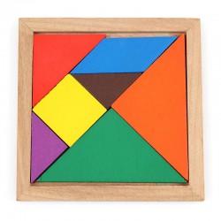 Układanka TETRIS Drewniane puzzle, 9 elementów
