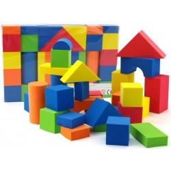 Bezpieczne piankowe bloczki klocki, 29 elementów