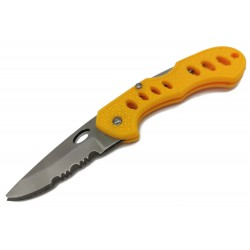 Mały nóż składany nożyk w formie breloka