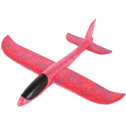 Piankowy samolot do zabawy myśliwiec ładowany USB
