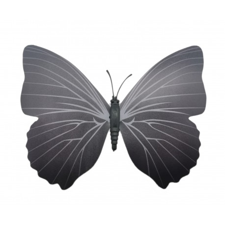 Magnes motyl 3D ozdobny na lodówkę - czarny