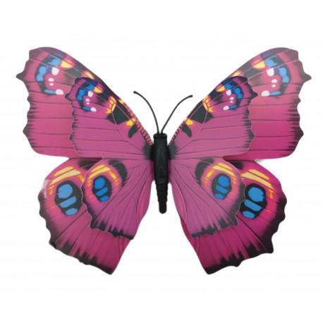 Magnes duży motyl 3D ozdobny na lodówkę M60