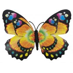 Magnes duży motyl 3D ozdobny na lodówkę M56