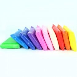Ciastolina kreatywna dla dzieci 12 kolorów zestaw
