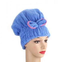 Turban frotte do suszenia włosów, różne kolory