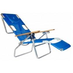 Leżak łóżko składane plażowe ogrodowe fotel