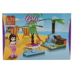 Klocki konstrukcyjne GIRLS dla dziewczynki
