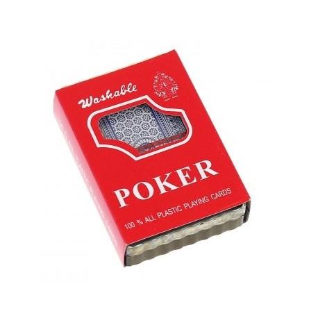 Karty do gry talia 54 kart do pokera Plastic Coated