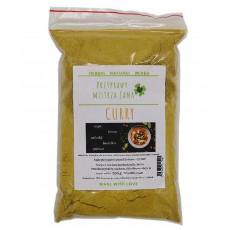 Curry indyjska orientalna 200g - 100 % naturalna
