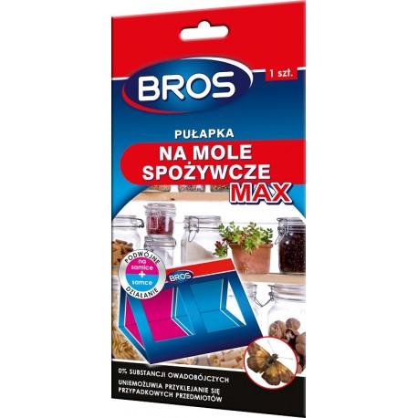 BROS Pułapka na mole spożywcze MAX, podwójne działanie